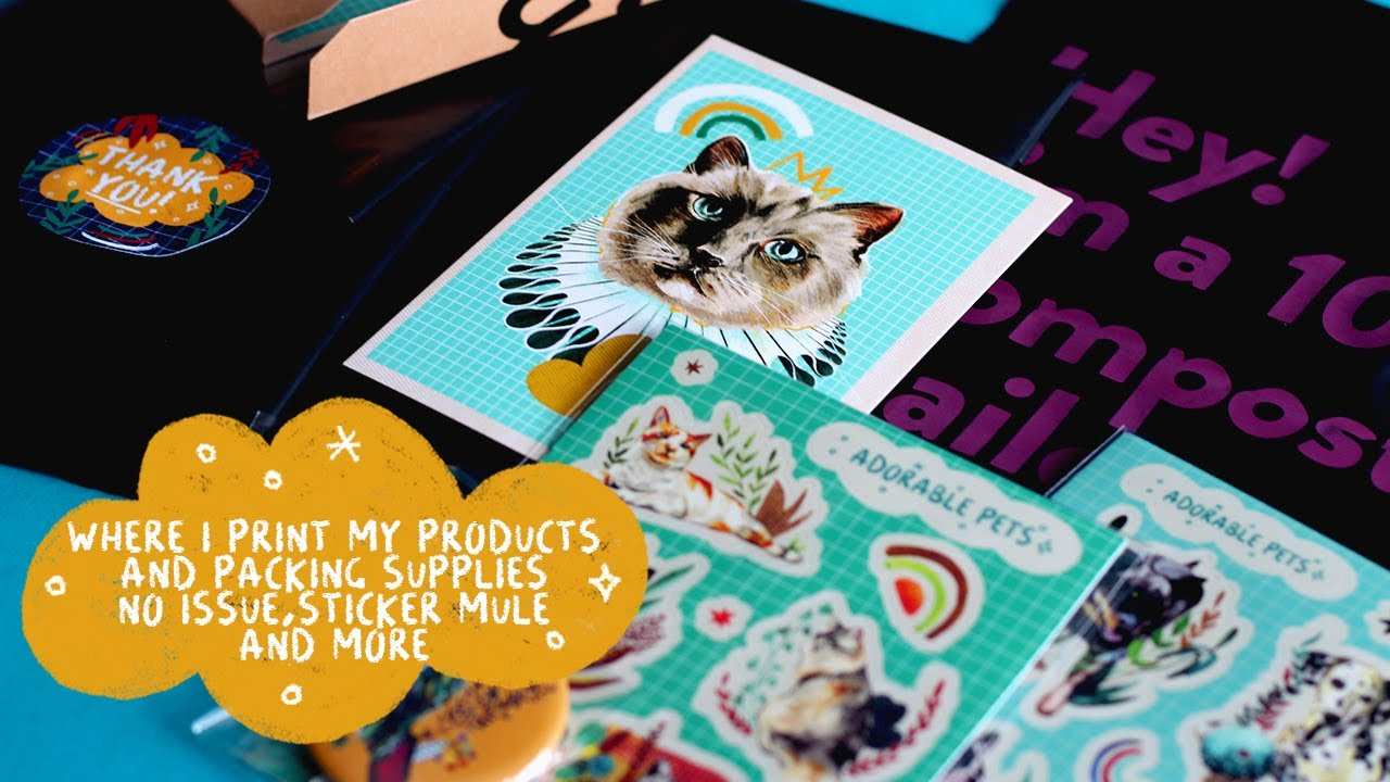 WHERE I GET PRODUCTS AND PACKING SUPPLIES PRINTED | NOISSUE, STICKER MULE AND MORE