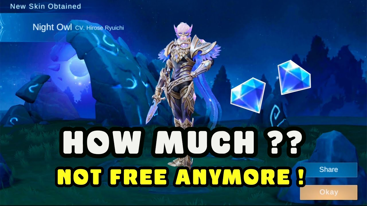 HOW MUCH IS GUSION NIGHT OWL COLLECTOR SKIN? | GRAND COLLECTION EVENT - Mobile Legends Bang Bang