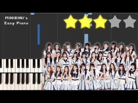 BNK48 - Kimi Wa Melody  《Piano Tutorial》 ★★★☆☆