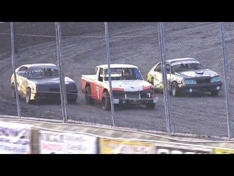 Mini Stock MAIN EVENT 6-8-19 Petaluma Speedway