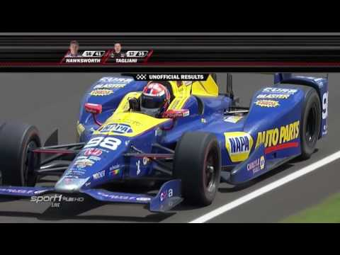 2016 Indy 500 Finish | Rossi wins