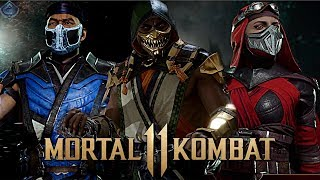 Mortal Kombat 11 - EXCLUSIVE GEAR SYSTEM AND CUSTOMIZATION GAMEPLAY!