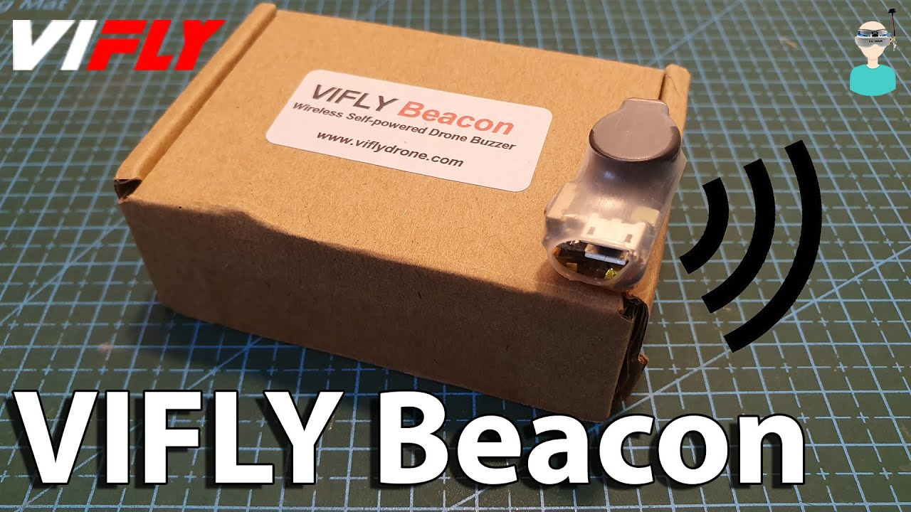 VIFLY Beacon - Never Lose Your Drone Again (V2 0)