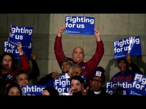 GOP, Democratic candidates campaigning hard in Michigan