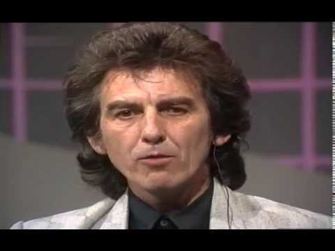 Günther Jauch im Gespräch mit George Harrison 1988