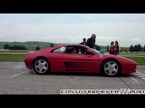 Loud Ferrari 348 Tb W Tubi Exhaust Ride And Startup So
