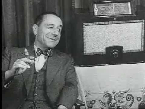 Reclame Philips radio (1937)