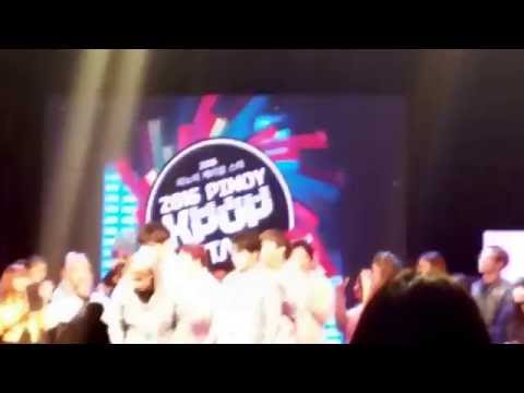 Yohan Hwang Announcing The Top 3 in Performance Category at Pinoy K-Pop Star 2016 160730