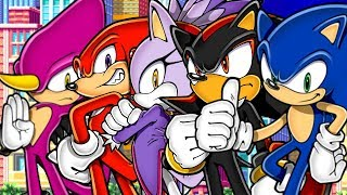 Sonic Oxilary   An Advanced Fan Game! (sonic Fan Games)