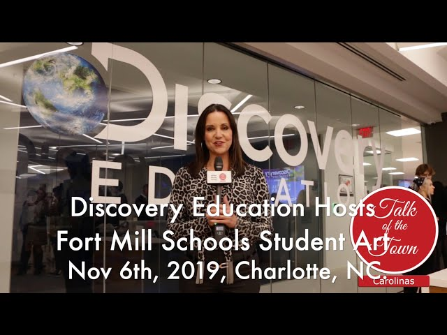Discovery Education Features Fort Mill Schools Art