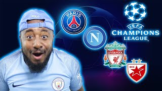 2018/19 UEFA Champions League Draw | Red Star Belgrade & Liverpool In Group Of Death