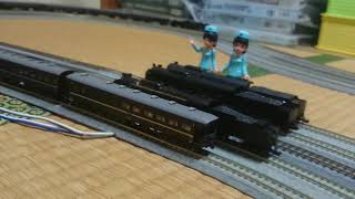 KATO  C62(東海道形) + KATO スハ44系 特急「はと」 13両編成