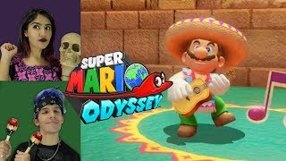 MEXICAN OUTFIT FOR MARIO | SUPER MARIO ODISSEY GAMEPLAY