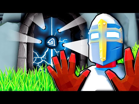 UPGRADING Our God Powers To DESTROY The Secret Door In Totally Accurate Battle Simulator (TABS Mods)
