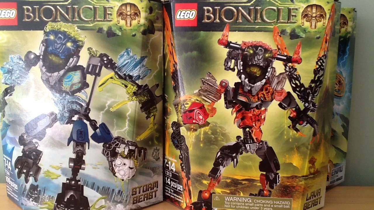Toys bionicles authoritative