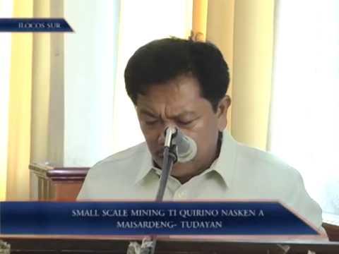 Small Scale Mining Ti Quirino Nasken A Maisardeng-Tudayan