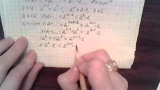 Математика 10 класс математическая индукция пример m10A3a