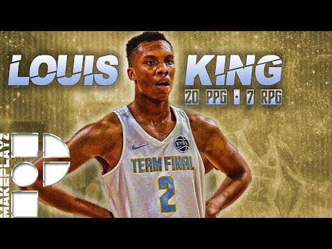 Louis King is Emerging as One of Nation's Best Prospects!