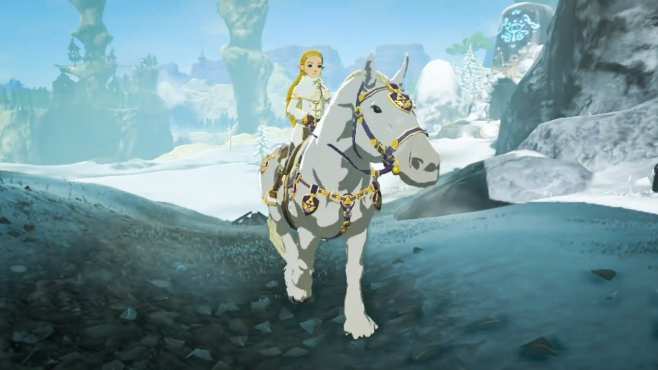 Playing As Princess Zelda In Breath Of The Wild Youtube