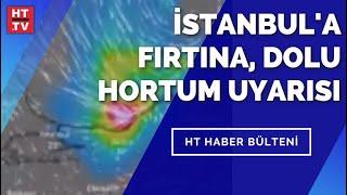 Süper Hücre İstanbul'u vuracak mı? Yarın dolu yağışına dikkat!