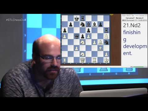 42nd Chess Olympiad: USA vs. Canada | Mastering the Middlegame - GM Josh Friedel