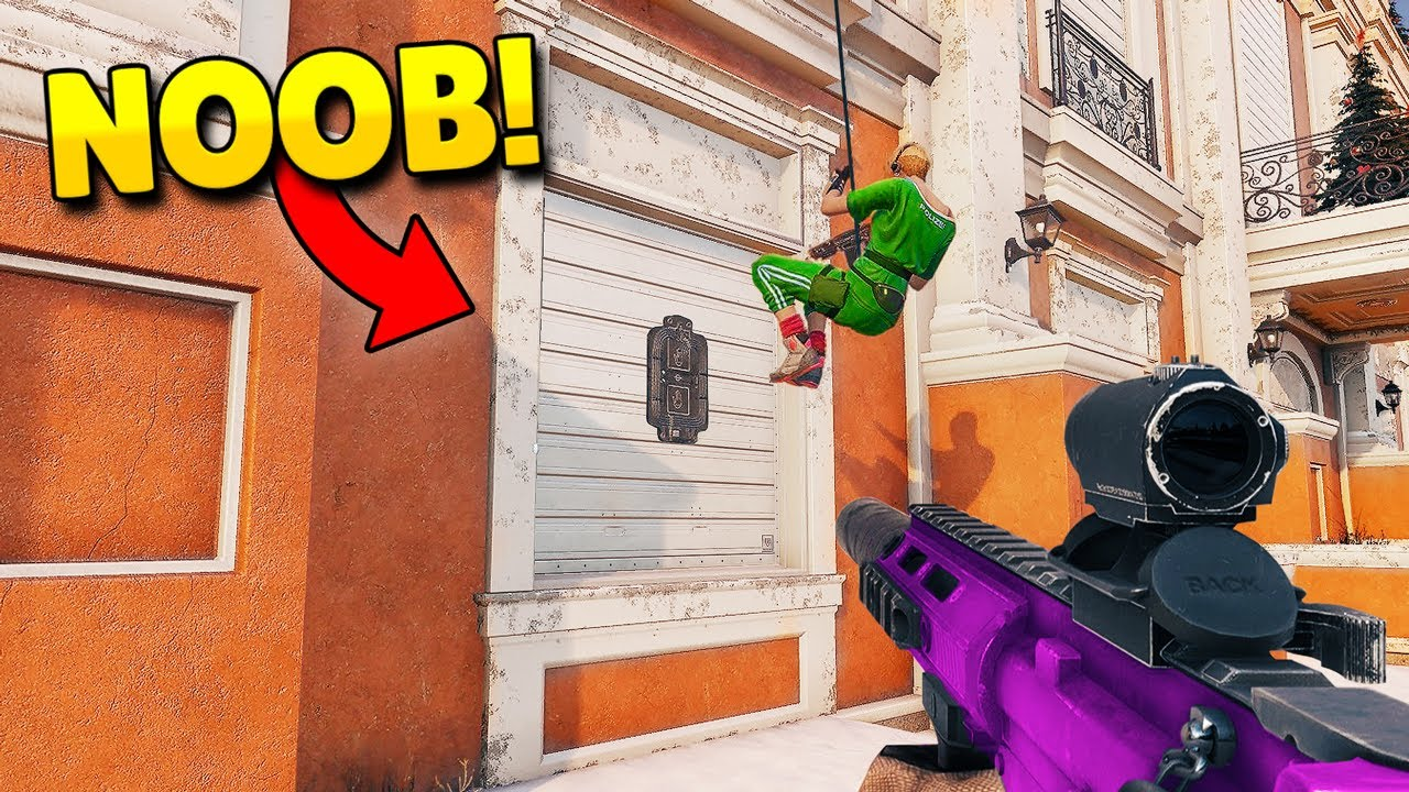RAINBOW SIX SIEGE FAILS: #88 (Rainbow Six Siege Random Moments) thumbnail