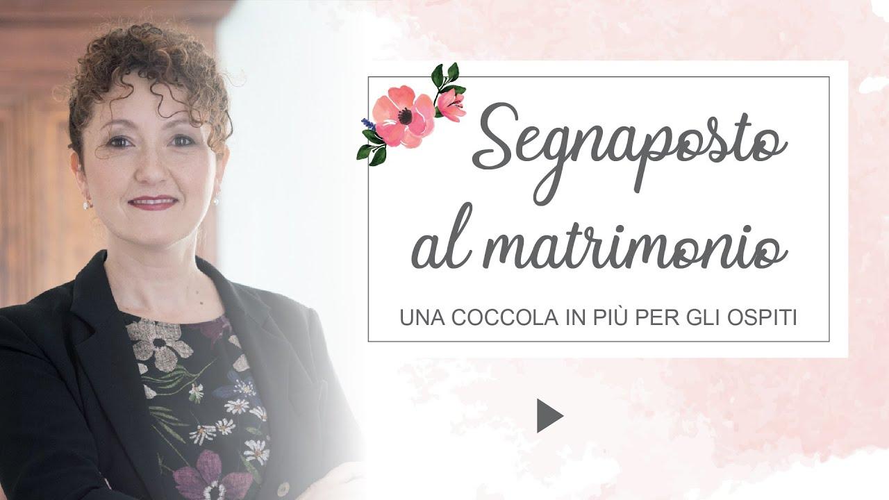 Obbligatori I Segnaposto Al Matrimonio.Segnaposto Al Matrimonio Una Coccola In Piu Matrimoni Con L