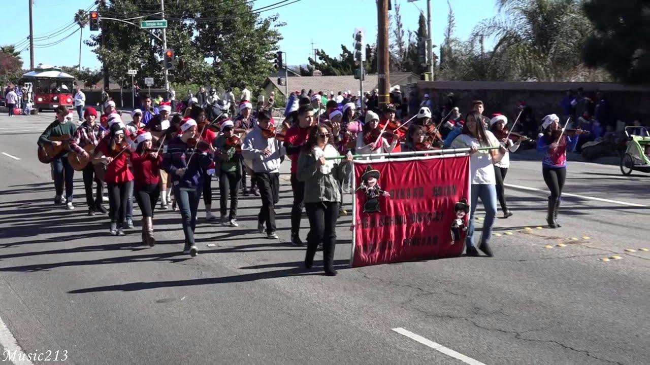Camarillo Christmas Parade.Oxnard Union Hs District Mariachi Club 2015 Camarillo Christmas Parade