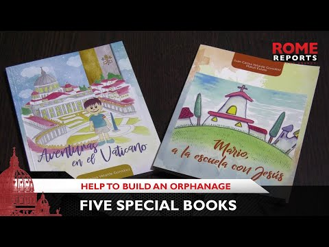 Five books manage to construct an orphanage