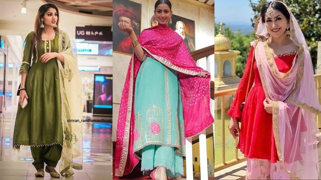 Different Punjabi Suit Designs Salwar Suit Designs 2019 Youtube