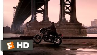 Black Rain (1/9) Movie CLIP - New York Motorcycle Race (1989) HD