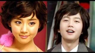 Their history.. Moon Geun-Young & Jang Geun-Suk. It's first love. ...