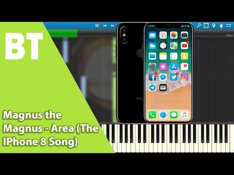 Magnus the Magnus - Area (The IPhone 8 Song) (Piano Cover) + Sheets