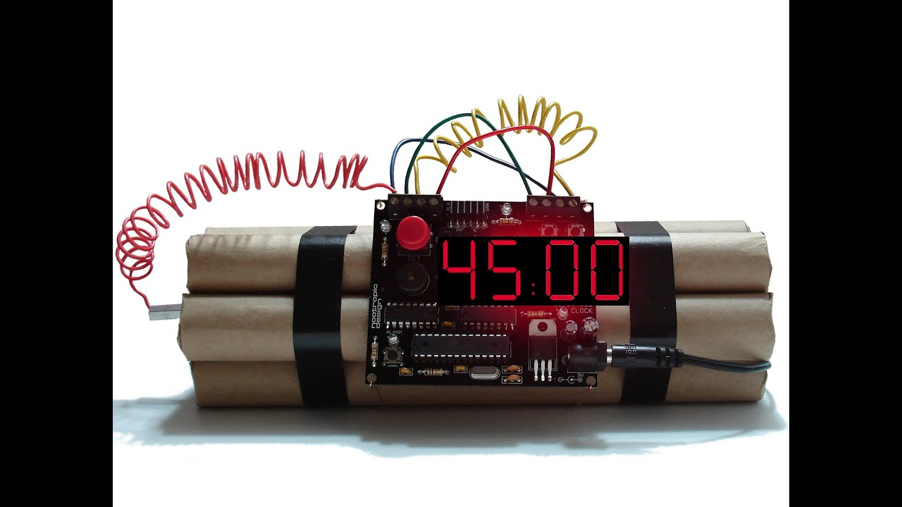 45 minutes countdown dynamite timer