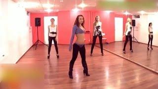 Движения современных танцев видео урок