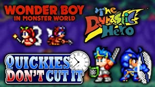 Wonder Boy in Monster World/The Dynastic Hero Review - Quickies Don