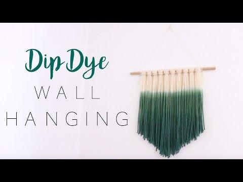 Dip Dye Wall Hanging | DIY