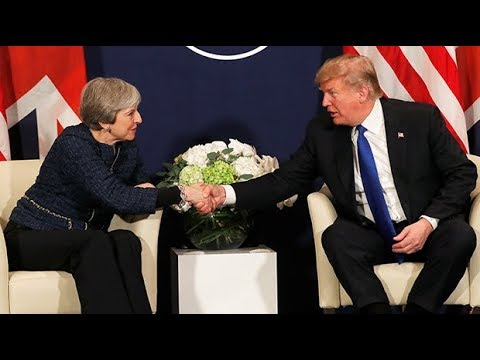 Donald Trump dismisses reports of rift with Theresa May as 'false rumour'