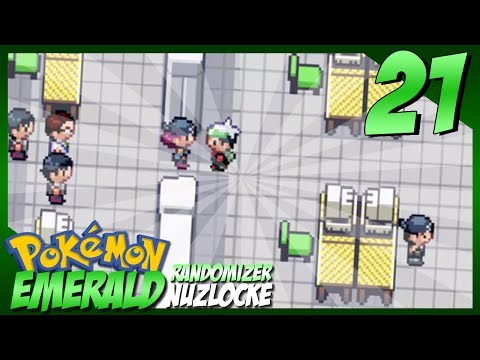 "Pokemon Emerald Randomizer Nuzlocke #21 - ""Weather Institute Surprise!"""