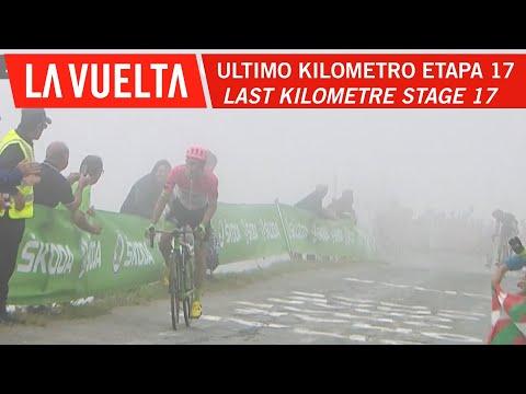 Last kilometer - Stage 17 - La Vuelta 2018