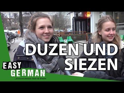 Duzen und Siezen   Easy German 133