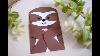 Making a Sloth with Lawn Fawn Woodland Critter Huggers