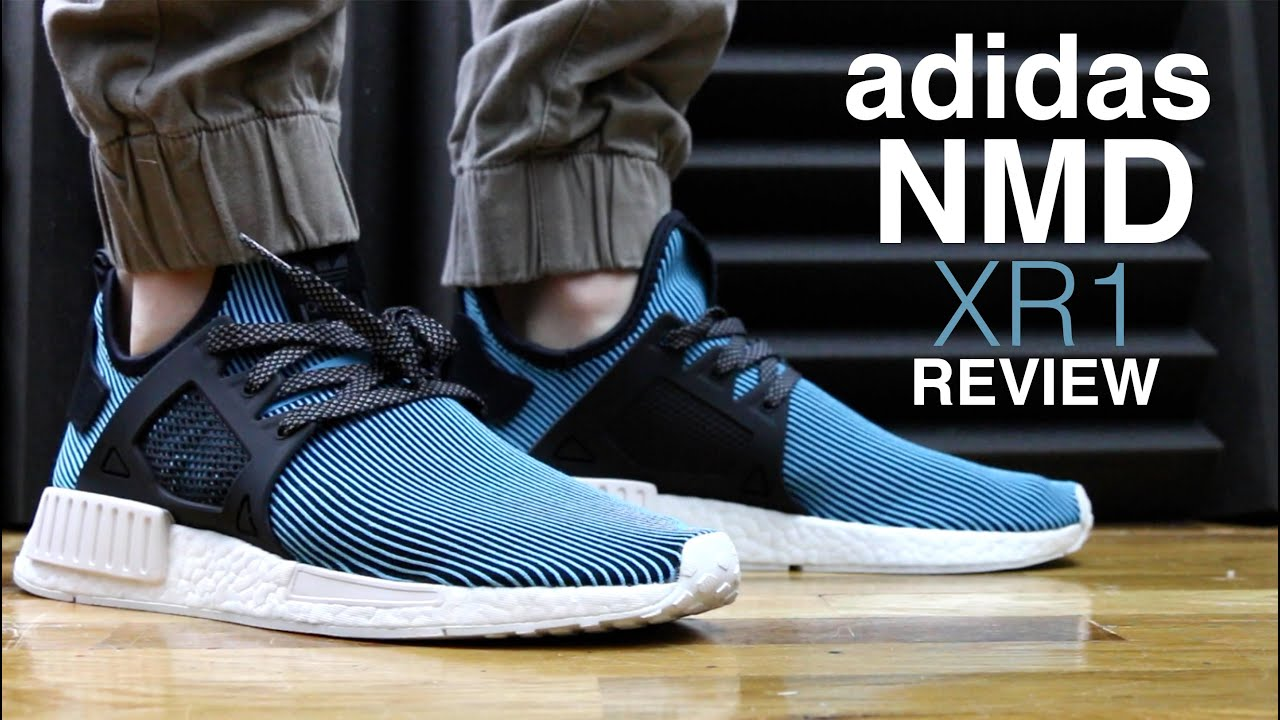 Adidas NMD XR1 PrimeKnit Review Adidas NMD XR1 On