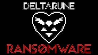 Deltarune Encrypts Your Files? | Ransomware Demonstration