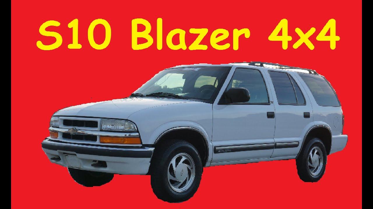 hight resolution of 2000 chevrolet s10 blazer lt 4x4 video review