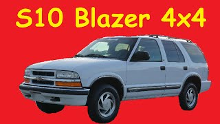 2000 Chevrolet S10 Blazer LT 4X4 Video Review