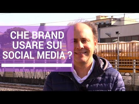 Web Marketing: Che Brand Usare Sui Social Media | Marco Scabia | 45 di 365