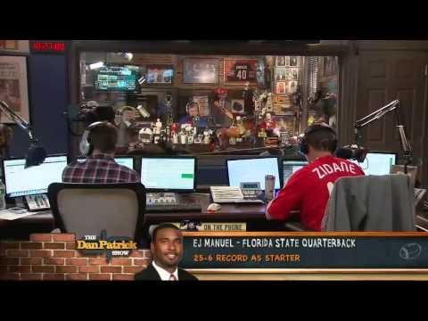EJ Manuel on The Dan Patrick Show 4/17/13