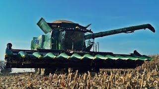 Kombajn John Deere nowej serii S700 w kukurydzy – testy na polach CGFP