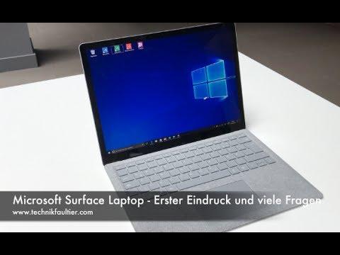 Microsoft Surface Laptop - Erster Eindruck und viele Fragen